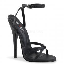Sandale sexy haut talon noire DISCOUNT petit prix taille 37