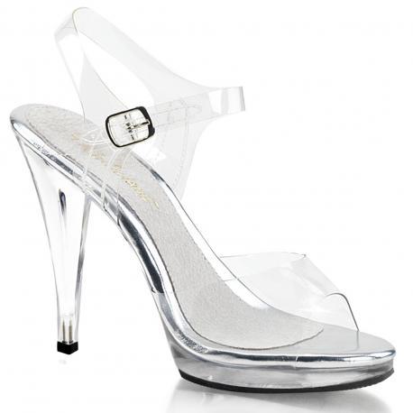 Sandale transparente Flair 408