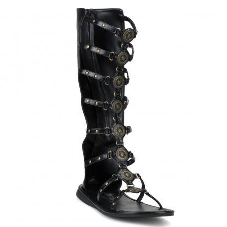 Chaussure Romaine noire ROMAN-15