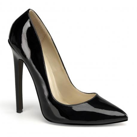 Escarpin noir brillant SEXY-20