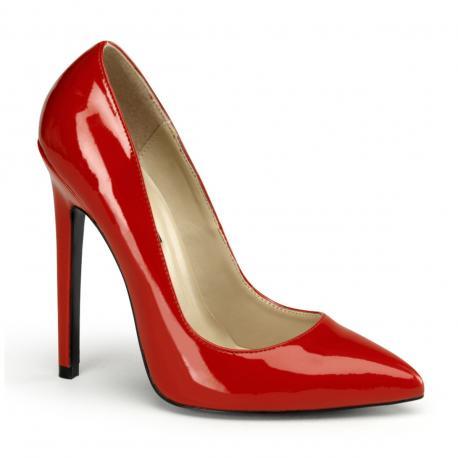 Escarpin rouge brillnt SEXY-33
