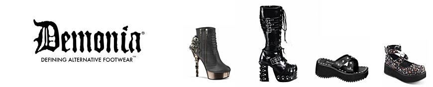 Chaussure gothique demonia femme