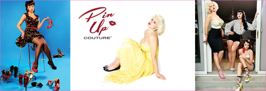 chaussure pin up couture retro et vintage