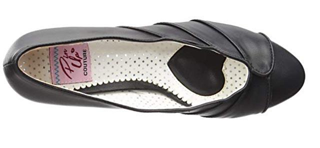 Chaussure vintage année 50 pour femme