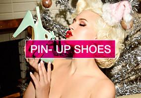 Chaussure pin up rétro, des années 50 et 60 les plus beaux modèles vintages !